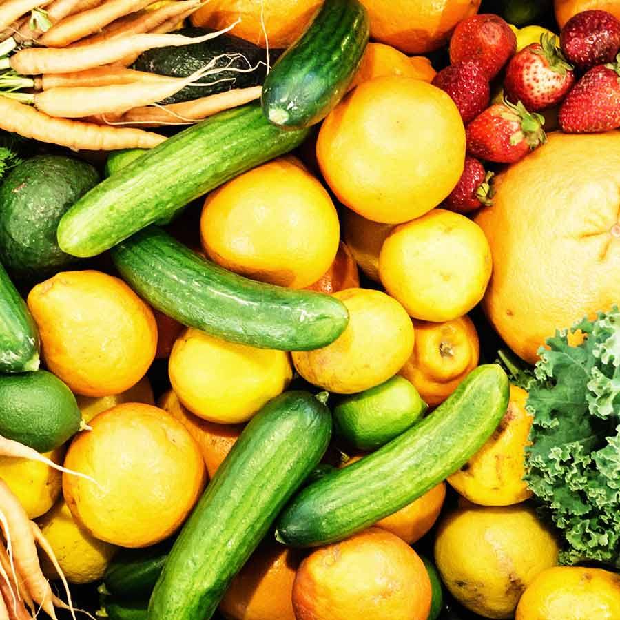 福利厚生:有機野菜無償提供制度